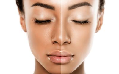 Cómo palidecer la piel