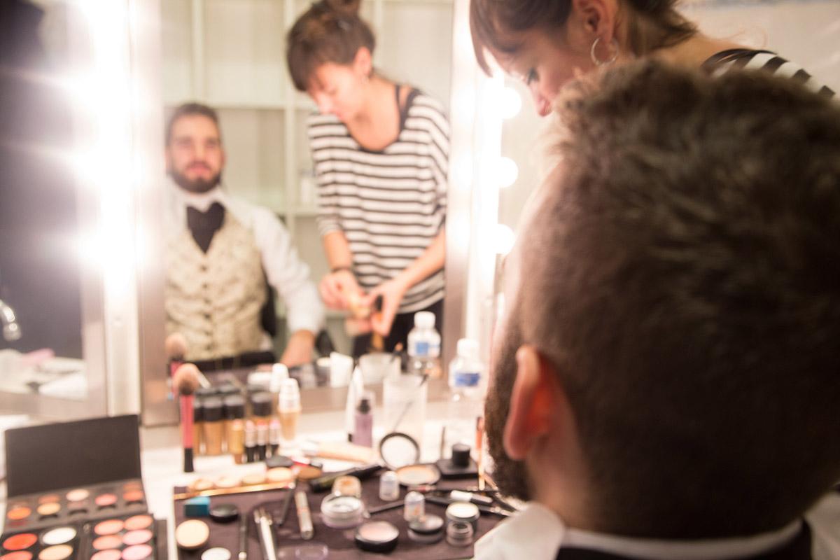 Maquillaje para teatro