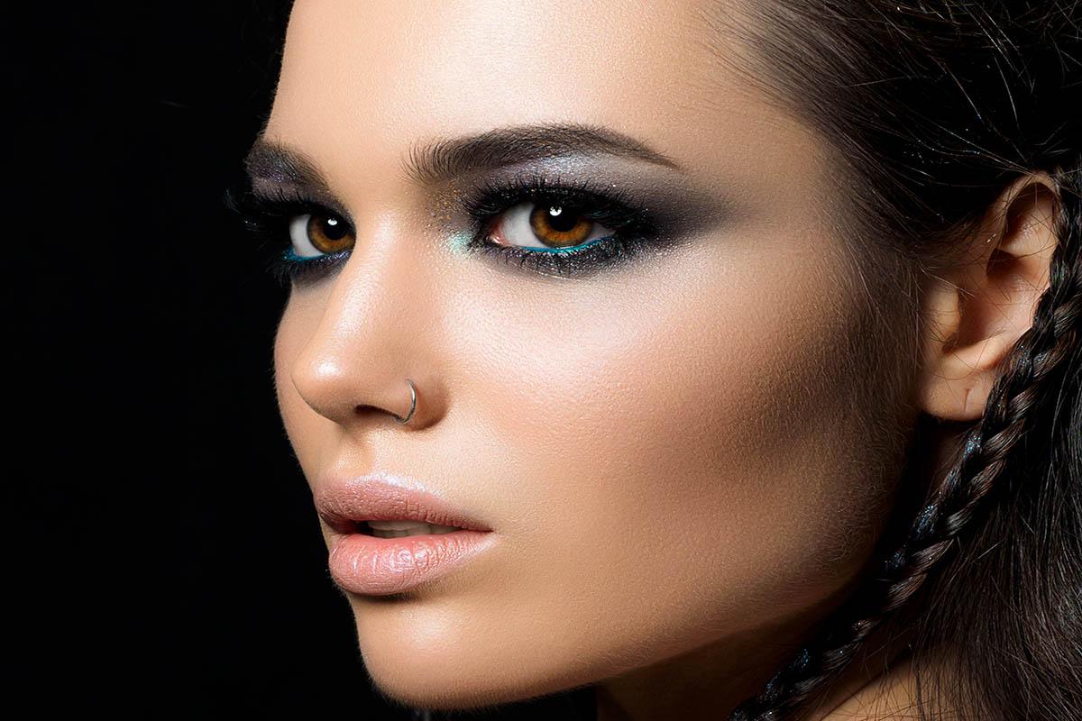 Maquillaje profesional noche