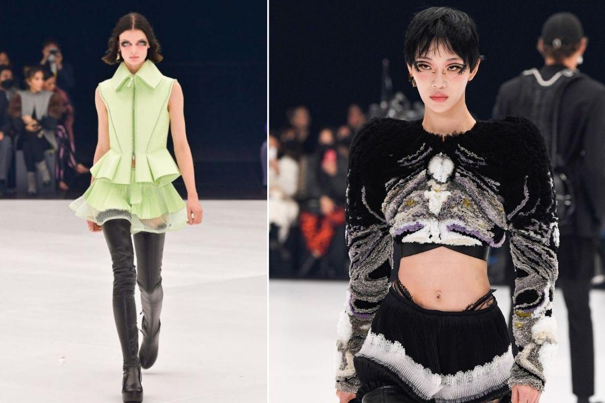 tendencias de maquillaje de Paris Fashion Week